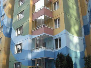 şelale evleri cam balkon uygulaması