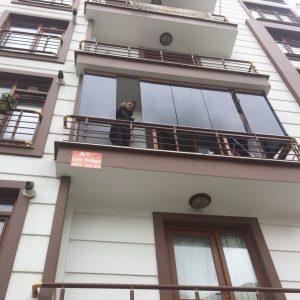 a1 cam balkon montaj