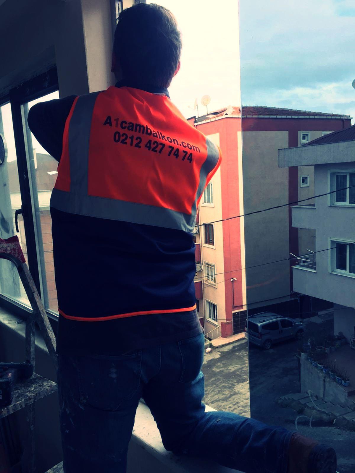 a1 cam balkon sistemleri montaj aşaması 2019