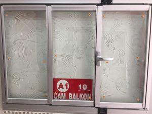 izolasyon contalı ısı yalıtımlı cam balkon modeli